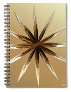 Star Tan Spiral Notebook