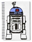 Star Wars R2d2 Droid Robot Spiral Notebook