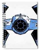 Star Wars Tie Fighter Advanced X1 Spiral Notebook