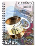 Starbucks Mug Nashville Spiral Notebook