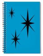 Starburst 1 Trio  Spiral Notebook