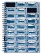 Stardust Aerogel Array Spiral Notebook
