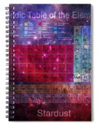 Stardust Periodic Table Spiral Notebook