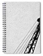 Stare Contest Impasto Spiral Notebook
