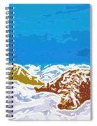 Starfish 1 Spiral Notebook
