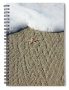 Starfish On The Beach Spiral Notebook