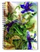 Starflower Spiral Notebook