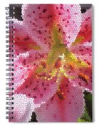 Stargazer Stained Glass Spiral Notebook