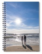 Staring At The Sun Spiral Notebook