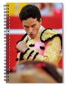 Staring Spiral Notebook