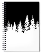 Stark Winter Spiral Notebook