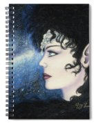 Starlight Maiden Spiral Notebook
