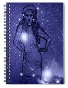 Starlight Of Space And Time 2 Spiral Notebook