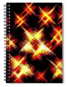 Starlight Spiral Notebook
