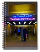 Starring Jimmy Fallon Spiral Notebook