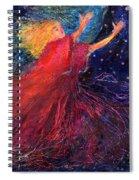 Starry Angel Spiral Notebook