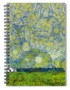 Starry Ballintoy Church Spiral Notebook