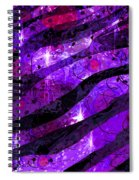 Starry Eyed And Black Lace Spiral Notebook