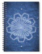 Starry Kaleidoscope Spiral Notebook