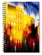 Starry Night In Prague Spiral Notebook