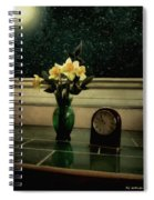 Starry Night In Spring Spiral Notebook