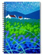 Starry Night In Wicklow Spiral Notebook