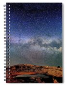 Starry Night Over Mesa Arch Spiral Notebook