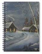 Starry Night Spiral Notebook