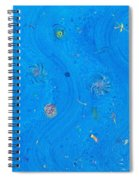Starry Sea Of Sky Spiral Notebook