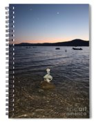 Starry Sky Over Lake Tahoe Spiral Notebook