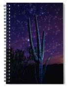 Starry Starry Sonoran Skies  Spiral Notebook