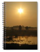 Starry Sunrise Spiral Notebook