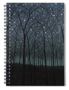 Starry Trees Spiral Notebook