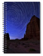 Stars Above The Moon Spiral Notebook