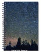 Stars At Night Spiral Notebook