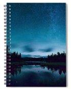 Stars Over Lake Vermilion Spiral Notebook