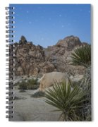 Stars Shining Over Indian Cove Spiral Notebook