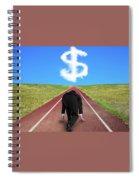 Starting A Small Business Spiral Notebook