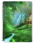 Startled By Your Intrusion Spiral Notebook