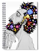Starving For Peace Spiral Notebook