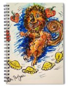 Starwberry Festival Spiral Notebook