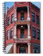 State Capital Entry  Spiral Notebook