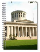 State Capitol Of Ohio Spiral Notebook