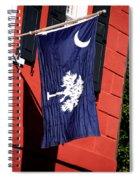 State Flag Of South Carolina Spiral Notebook