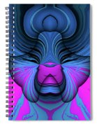 State Of Bliss Spiral Notebook