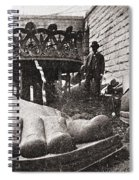 State Of Liberty: Feet Spiral Notebook