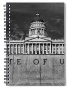 State Of Utah  Spiral Notebook