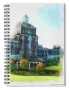Stately Beauty Spiral Notebook