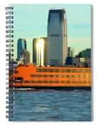 Staten Isalnd Ferry Barberi Spiral Notebook