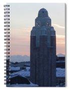 Helsinki Station At Sunrise Spiral Notebook